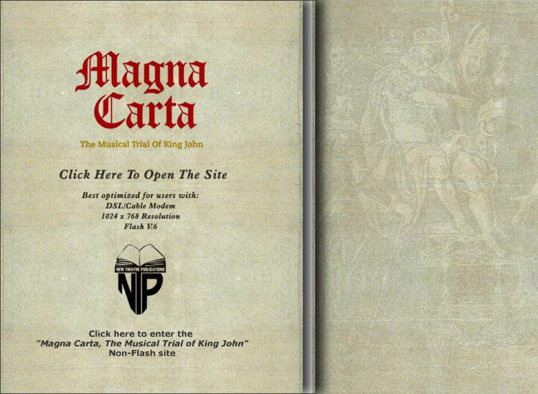 Magna Carta: Musical Trial of King John Cover